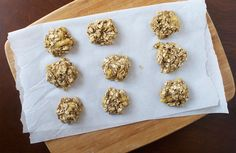 Banana oat bites, can't wait to make these only 40 calories a bite