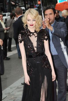 Emma Stone - The Amazing Spiderman - Lady got style!