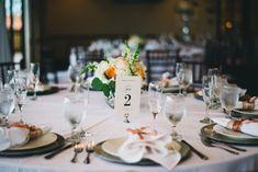 Classic Wedding Tablescape  // A Green & White Enchanted Garden Orlando Wedding via TheELD.com Floral Wedding Decorations, Reception Decorations, Wedding Centerpieces, Reception Table, Wedding Costs, On Your Wedding Day, Floral Event Design, Enchanted Garden, Orlando Wedding