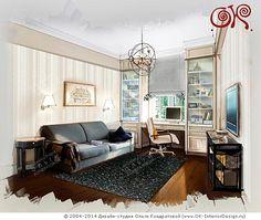 Интерьер комнаты сына  http://www.ok-interiordesign.ru/ph_dizain-detskoy-komnaty.php