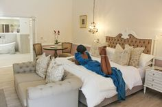 The revamped Courtyard suites definitely are a beautifully chic and stylish décor treat!