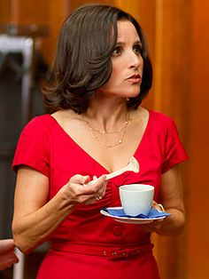 "Julia Louis-Dreyfus as Selina Meyer on ""Veep"" on HBO."