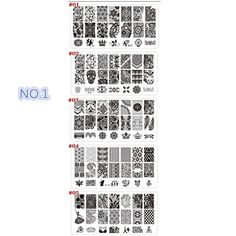 Meidus DIY Nail Polish Tools Lace Nail Art Image Stamp Stamping Plates Manicure Template BC0105 * You can find out more details at the link of the image. Note:It is Affiliate Link to Amazon.