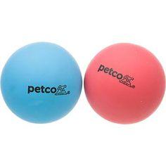 Petco Rubber Handball 2 Pack Dog Toys