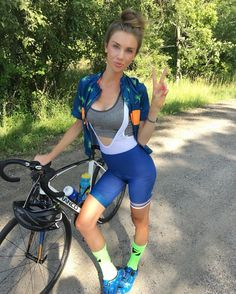 biking jersey in Diverse Women's Clothing Cycling Girls, Cycling Wear, Cycling Shorts, Cycling Outfit, Female Cyclist, Sport Outfit, Cycle Chic, Road Bike Women, Bicycle Girl