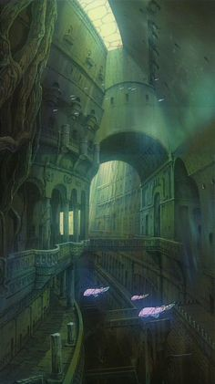 castle in the sky inside - Google Search