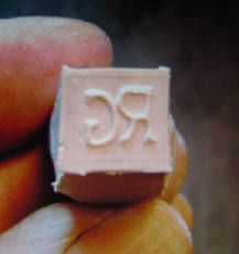 Pottery and Ceramic Stamp 13