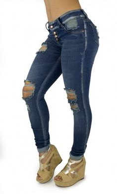 Maripily Women Destroyed Lifting Skinny Jean – This enhance Maripily Skinny Jean are designed to shape your silhouette!
