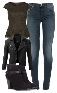 """Elena Gilbert Inspired Outfit"" by mytvdstyle ❤ liked on Polyvore featuring J Brand, Sir Oliver, Doublju, Forever 21, women's clothing, women's fashion, women, female, woman and misses"