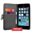 Jellibean Apple iPhone 5 / 5S PU Leather Wallet Case Cover  Screen Protector #February