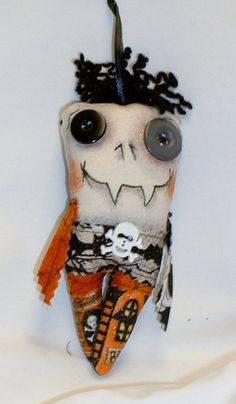 Mini Monster Halloween Zombie Voodoo Doll - Ornament H-9