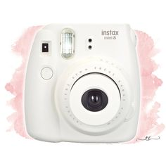 Instax mini 8 polaroid camera white at TanyaBrittany shop