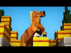 Hay's for Horses - A Minecraft Animation (+playlist) Minecraft Horse, Minecraft Songs, Minecraft Comics, Minecraft Funny, Horse Hay, Horses, Youtubers, Haha, Video Games
