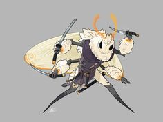 [OC] Motha, the insect warrior Illustration Kawaii, Illustration Simple, Character Illustration, Character Drawing, Character Concept, Concept Art, Dnd Characters, Fantasy Characters, Design Steampunk