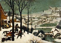 Cazadores en la nieve, de Pieter Brueghel el Viejo, 1565.