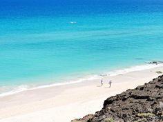 Playas de Sotavento de la península de Jandía, Fuerteventura Combinación de tonalidades perfecta para un rincón de paraíso Foto de Home Canarias