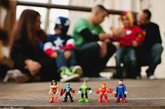 Superhero Family Session and Holiday Card!  // Mad Hearts Photography