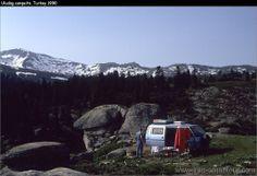 Freedom in the mountains of Turkey...with our Isuzu Midi 4x4