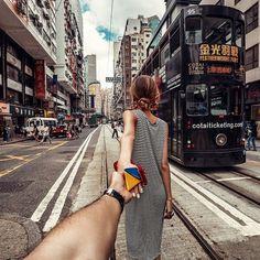 Follow Me • Double Decker Tram, Hong Kong