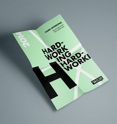 '14 My Year In Words // Poster Collection on Behance