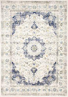 Favorite Budget Friendly Blue Vintage Rugs - Bless'er House