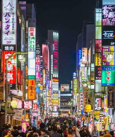 Tokyo, Japan | Visit Tokyo at night, and its neon signs will have you looking in every single direction, ten times over. If you thought Times Square was a nighttime sight to see, just wait until you're lost deep into one of Tokyo's neighborhood with nothing but the shop and restaurant signs surrounding you.