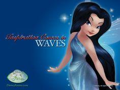 "Disney Fairies ""Inspiration Comes In Waves, Silvermist"""