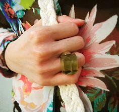 Gold Ring - MyHotShoes.com