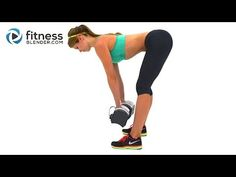 Brutal Butt & Thigh Workout - 30 Minute Lower Body Sculpting - Drop it Like a Squat! via Fitness Blender #free #fitness #strong
