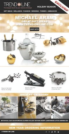 Great Gift Ideas: www.trend-on-line.com