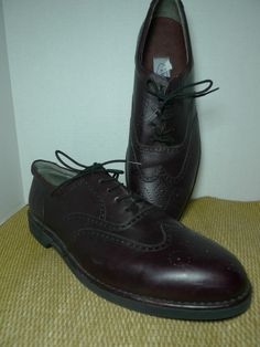ROCKPORT DresSports Leather Dress Shoe  Oxford Size 11.5 Vibram Morflex sole