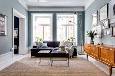 blue house stockholm living room makeahome.nl