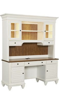Havertys   Newport Desk With Hutch For Sunroom. $1,800. 69 W X 50 H