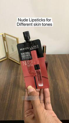 Makeup Routine, Makeup Kit, Skin Makeup, Lipstick Swatches, Lipstick Shades, Lipsticks, Lipstick Guide, Sparkly Makeup, Day Makeup Looks
