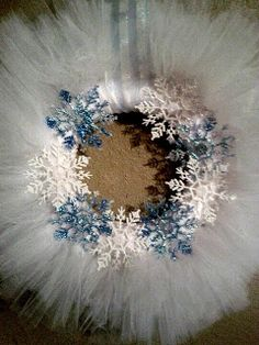 Chantilly Charm: Tulle Wreath