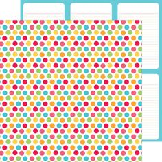 Item:4657 summer celebration double-sided cardstock (25 pc)