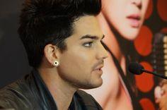 Adam Lambert, gorgeous profile pic | Source: unknown