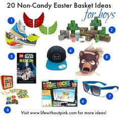 20 Non-Candy Easter Basket Ideas for Boys