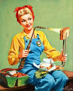 Necessity is the 'Mother' of invention ~ Arthur Sarnoff, ca. 1940s.