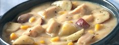 chicken pot pie soup!! perfect for a cold fall day