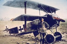 Vintage Planes Pictures of the rudimentary weapons and dramatic battles from the war that claimed 16 million lives. - Pictures of the rudimentary weapons and dramatic battles from the war that claimed 16 million lives. Ww2 Aircraft, Fighter Aircraft, Military Aircraft, Wilhelm Ii, Kaiser Wilhelm, Fokker Dr1, Flying Dutchman, Flying Ace, Aeropostale