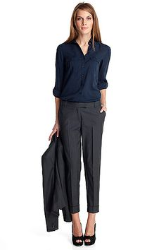 Office style - love these pants