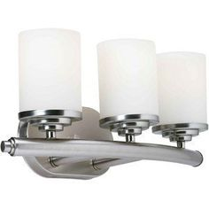 Forte Lighting 5105-03-55 Forte Lighting 3 Light Bath Bracket Brushed Nickel by Forte Lighting. $104.39. Wall Light by Forte Lighting from the N/A suite Available in Brushed Nickel Features Forte Lighting 3 Light Bath Bracket Brushed Nickel UPC: 093185022318