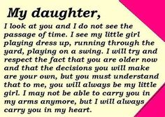 Image detail for -Daughter Quotes in English: Best mother-daughter, father-daughter ...