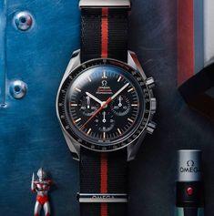 Omega Speedmaster Speedy Tuesday 2 'Ultraman' Watch #omega #speedytuesday #speedmaster #watches #menswatches #menswear