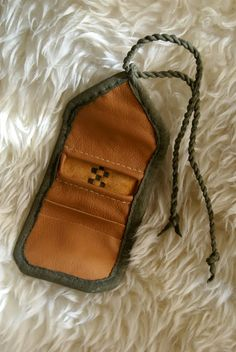 Birka wallet. Another interpretation