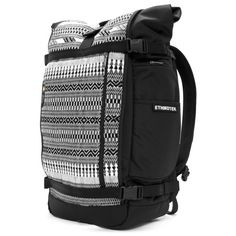 "The awesome backpack that I've been using for the past year: Ethnotek ""Woven-India 8 THREAD + Laptop Compatible Travel Backpack. Panels are interchangeable."
