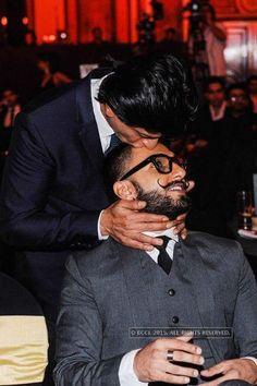 Shah Rukh Khan and Ranveer Singh :* :*❤️❤️❤️