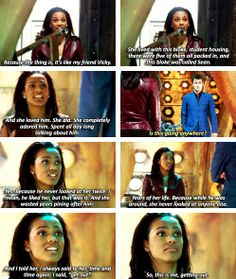 Martha Jones: this is me getting out. I love her for this. She didn't lose herself over the Doctor, and she was strong enough to know that she deserved someone who would love her.