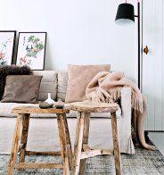 Une chambre entre esprit nordique et esprit rustique - Marie Claire Maison